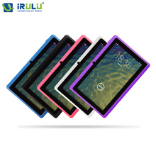 "IRULU eXpro X1 7 ""Tablet 1024*600 HD Android 4.4 Tablet PC Allwinner A33 Quad Core 8 GB ROM WIFI W/free Teclado ruso Nuevo Caliente"