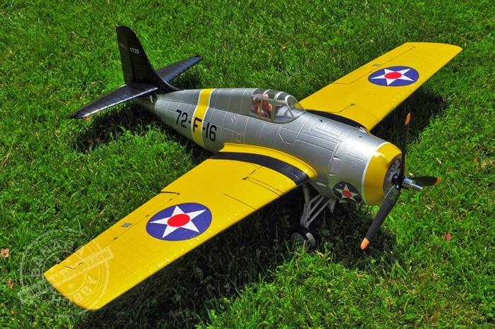 Sky flight Hobby 1200mm wingspan F4F rc propeller plane
