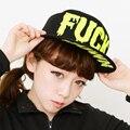 Free Shipping hot-selling  letter FUCK hiphop gd HARAJUKU baseball cap hip-hop hat