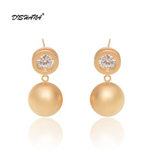 New Listing Austrian Crystal Drop Earrings For Women Bridal Wedding Earring Wholesale Earings Fashion Jewelry(E0404)