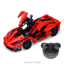 380PCS 2.4G Building Blocks Remote Control RC Car Model Kits Battery Chassis Bricks Compatible Major Brand Gift for Children