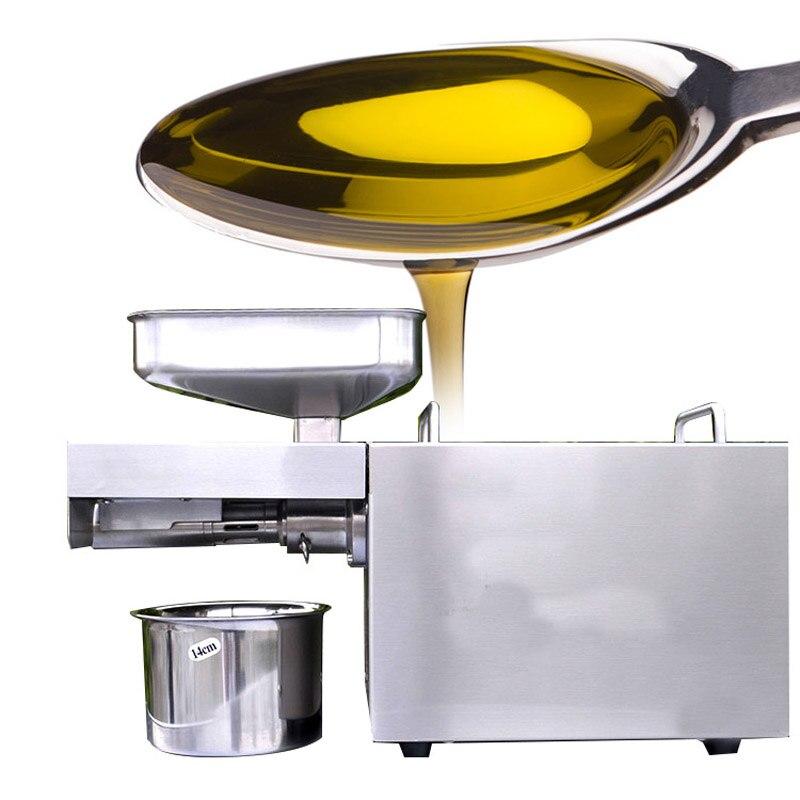 Presse à chaud froide automatique d'acier inoxydable de petite Machine de presse à huile