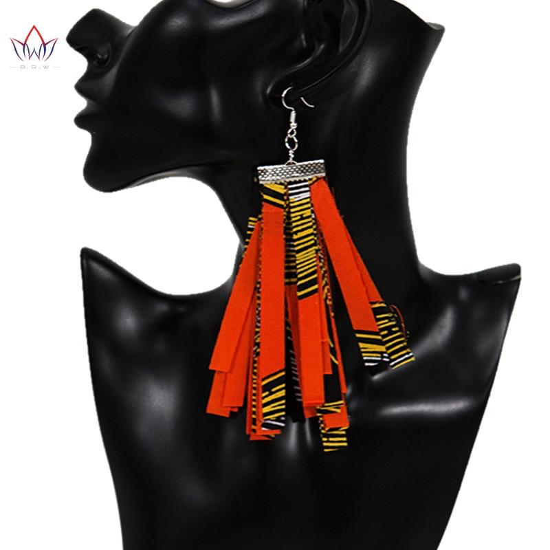 African BRW Tassel Print