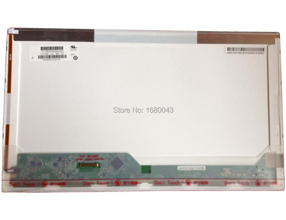 N173O6-L02 Rev C3 fit LTN173KT01 LP173WD1 TLA1 TLC3 B173RW01 17.3LED 40-pin Laptop Display LCD LED Screen Panel NEW ttlcd laptop hd lcd screen display 17 3 inch fit lp173wd1 tl c3 new led glossy
