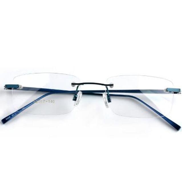08ff4103d Rimless Optical Eyeglasses Frame Ultralight Prescription Glasses Frames  Myopia Women Men Brand Designer Rimless Eyeglasses Frame