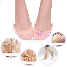 1 Pair Half Soft Sole Silica Ballet Pointe Dance Shoes Rhythmic Gymnastics Slippers Ballet Gymnastics Dance Practice Accessories(China)