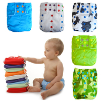 Snaps Onesize Baby Diapers Superfine Stay Dry Inner Modern Cloth Diaper With Nappy Pororo Diaper For