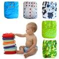 Snaps onesize fraldas do bebê, Superfino stay-seca interior moderno fralda de pano com fraldas, pororo fralda para o bebê peso 10-40lbs