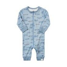 Baby Clothes Long Sleeve Romper Zipper