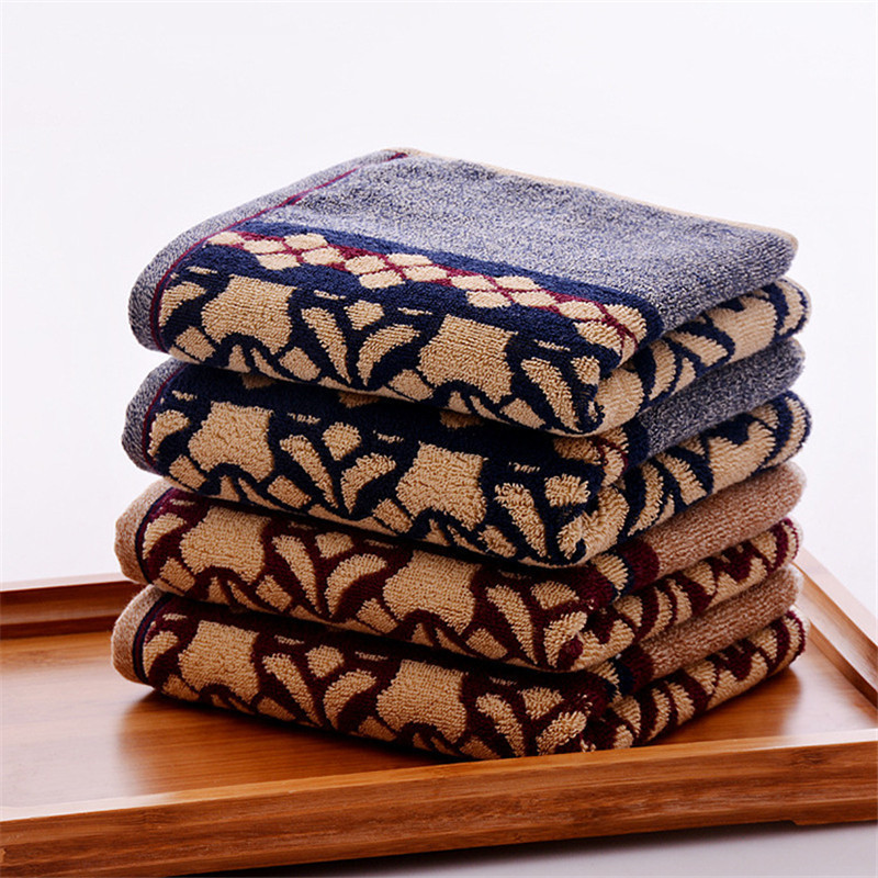 New Arrival Cotton Towel 35 75cm 120g Dark Thicker Hand Towel Face Hair Towels Super Soft