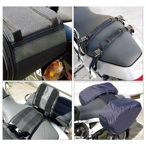 Image 4 - プロモーション契約オートバイサドルバッグサドル荷物スーツケースバイクリアシートバッグサドルバッグ防水カバー SA212