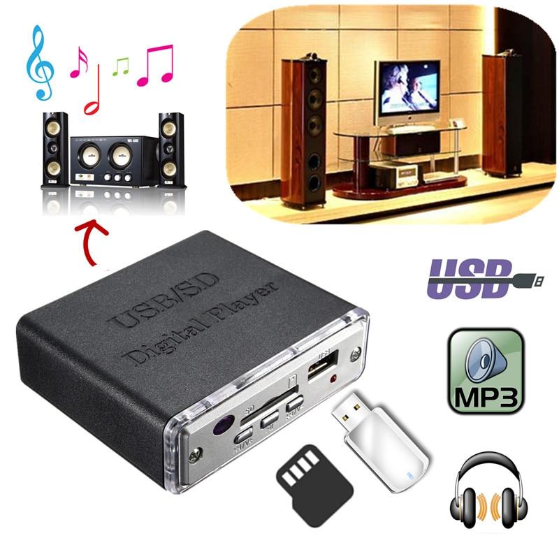 12V Amplifier Kuasa Mudah Alih MP3 SD USB Audio Player Reader - Audio dan video rumah - Foto 5