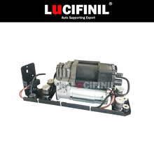 LuCIFINIL New Air Suspension Pump With Bracket Fit BMW F01 F02 F04 740i 750i 37206864215