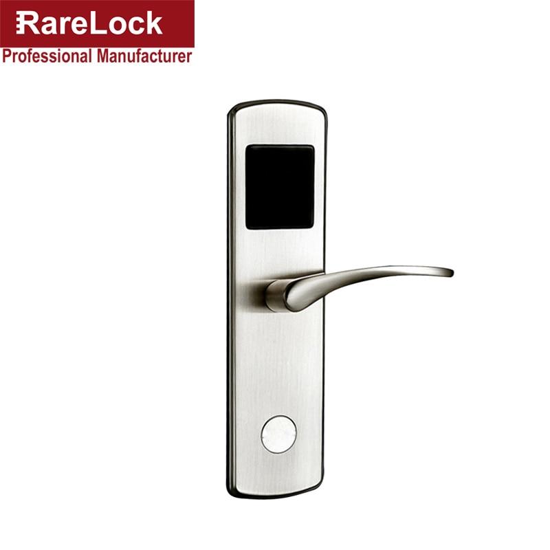 Rarelock Zinc Alloy Apartment Flat Office Condo Android NFC Smart Door Lock android smartphone nfc smart door lock for hotel office or apartment os8015nfc
