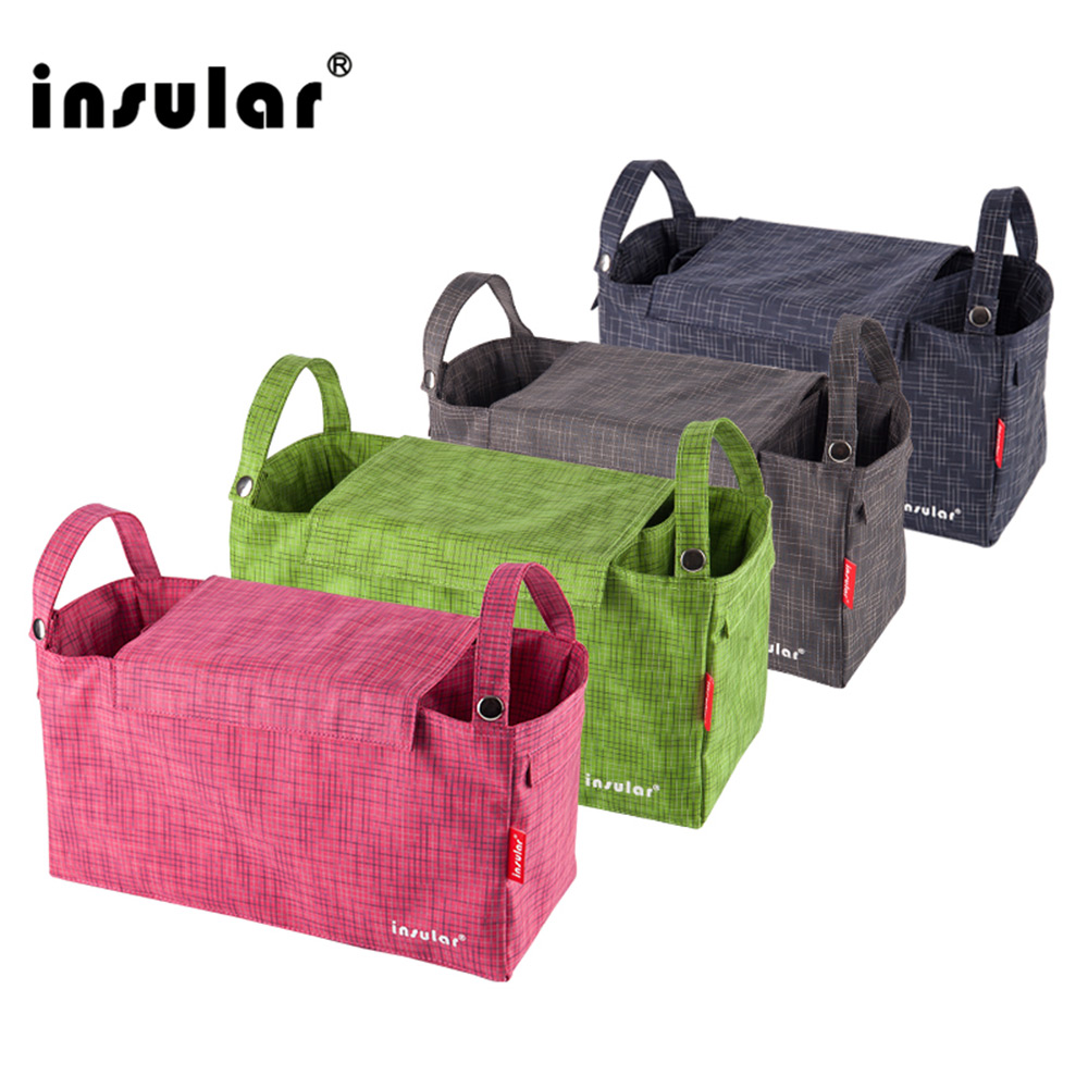 Insular Baby-Bag Nursing-Inner-Container All-Stroller Large-Capacity Mummy Waterproof