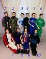 5 комплект / lot одежда костюмы для мальчик вилочная часть куклы одежда Prince кен пилот космонавтом камуфляж одежда комплект мальчики подарок