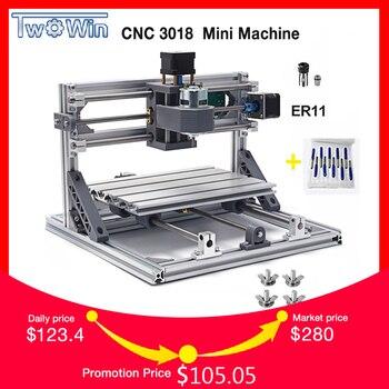 CNC Router DIY 3018 ER11 GRBL Controle Diy CNC machine, 3 Axis PCB Freesmachine, hout Router Lasergravure