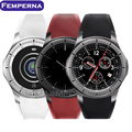 Femperna lf16 android 5.1 bluetooth smart watch mtk6580 512 + 8 gb smartwatch pedômetro freqüência cardíaca gps wifi 3g para ios android