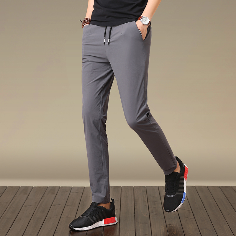 Han edition foot trousers cultivate morality men's casual spring haroun pants K101 - P45