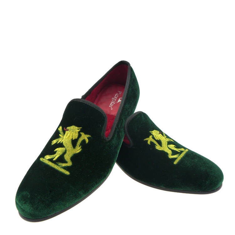 Velvet Loafers Shoes For Men