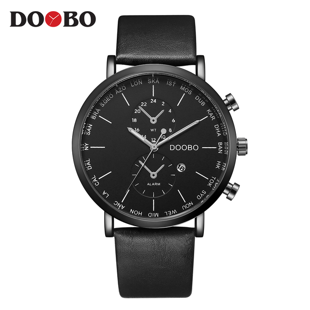 Reloj Hombre мода челнока спортивные мужские Часы лучший бренд класса люкс Военная Униформа кварцевые часы Saat Relogio masculino doobo