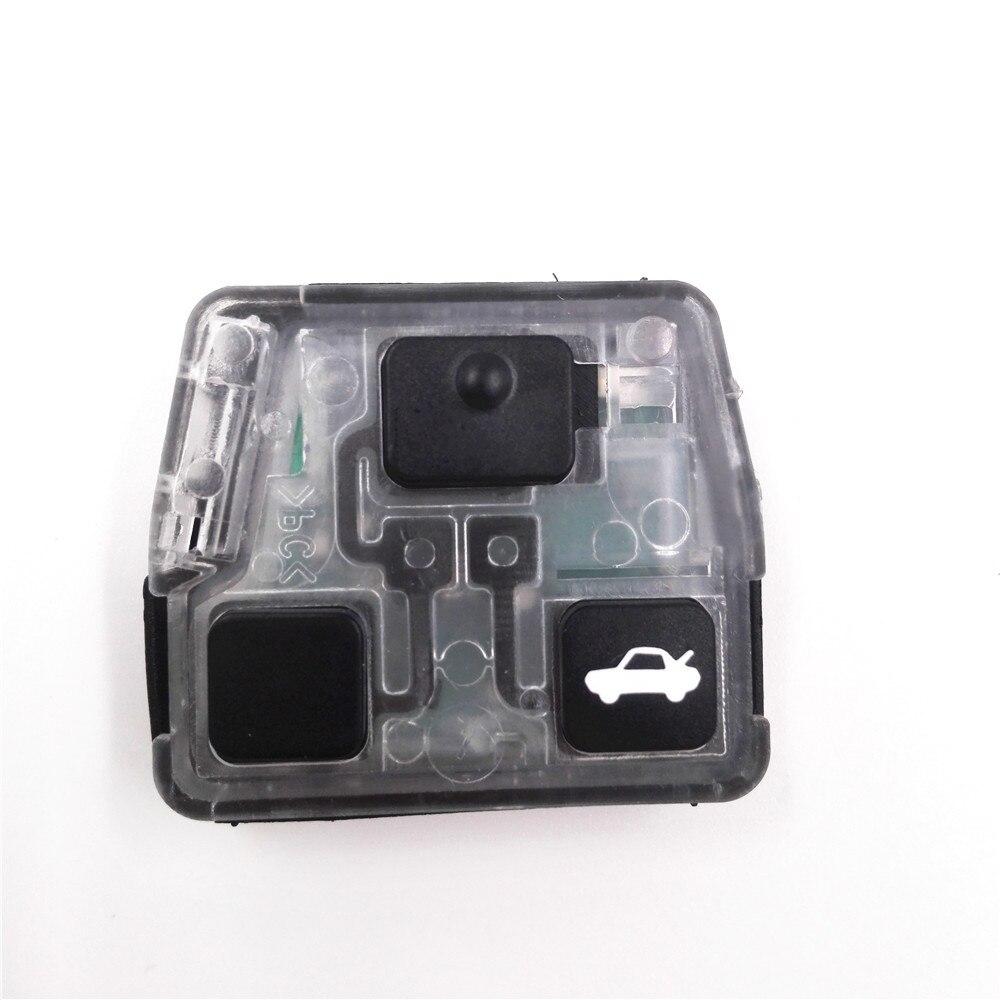 Prix pour Top Qualité 2/3 Boutons Touche De La Télécommande (315/433 MHz 53090/42060) Circuit Conseil pour Toyota