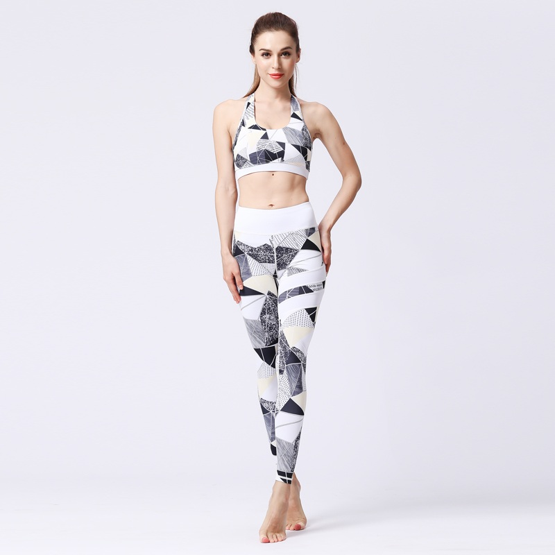 2e4059a281 Hot Sell Women Yoga Set Bra+Leggings Tracksuit for Female Bra And ...