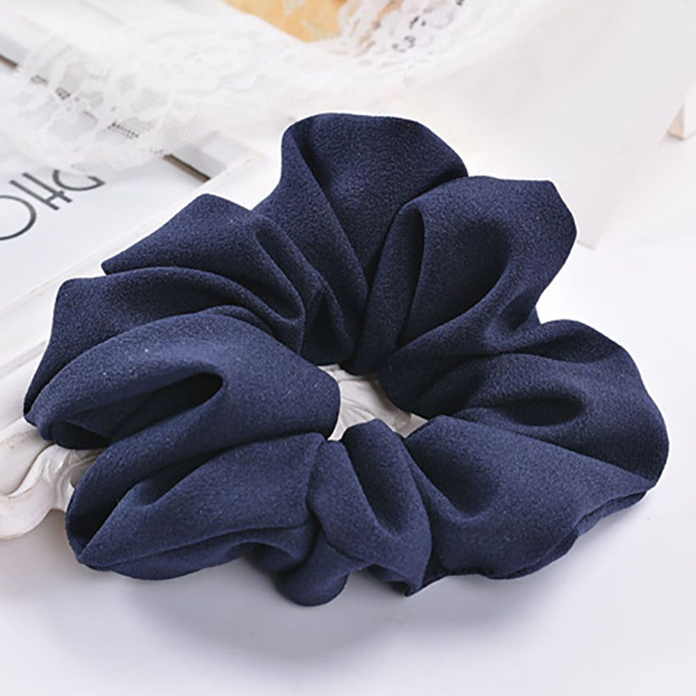 1Pc Trendy Lady Hair Scrunchie Ring Elastic Pure Color Bobble Sports Dance Scrunchie Women Girls Hair Accessories