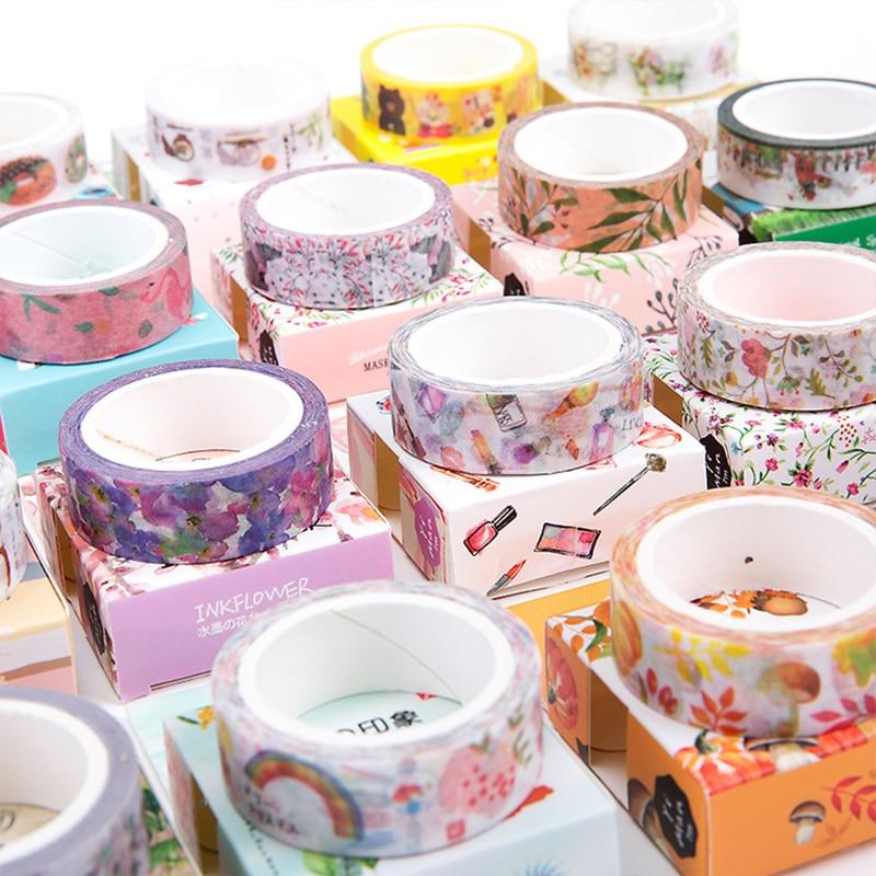 Washi Tape DIY Scrapbooking Paper Sticker Label Masking Tape Album Diary Decoration Stationery Tapes