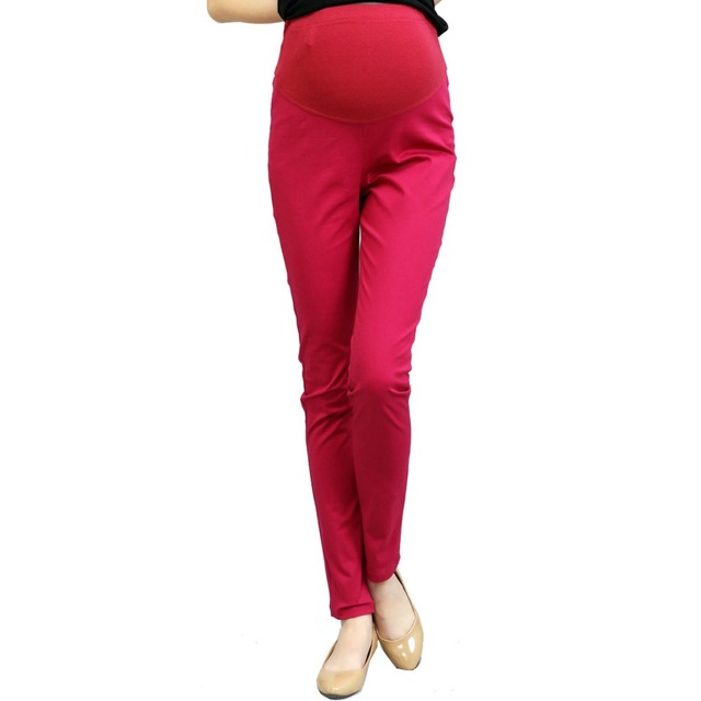 b950f1a1e0e0d Maternity Pants for Pregnant Women Skinny Maternity Overalls for Summer  Winter Maternity Clothes Work Pregnancy Clothing