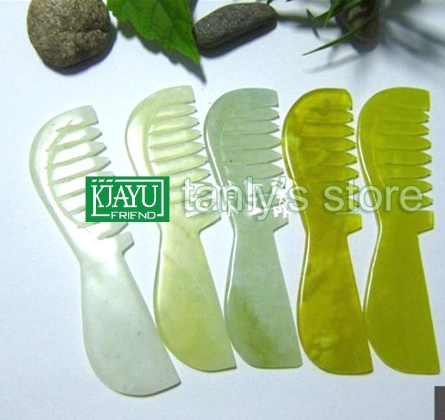 good quality original beauty JADE comb natural 100%  randomly color High-Transparency original ni pci 6731 selling with good quality