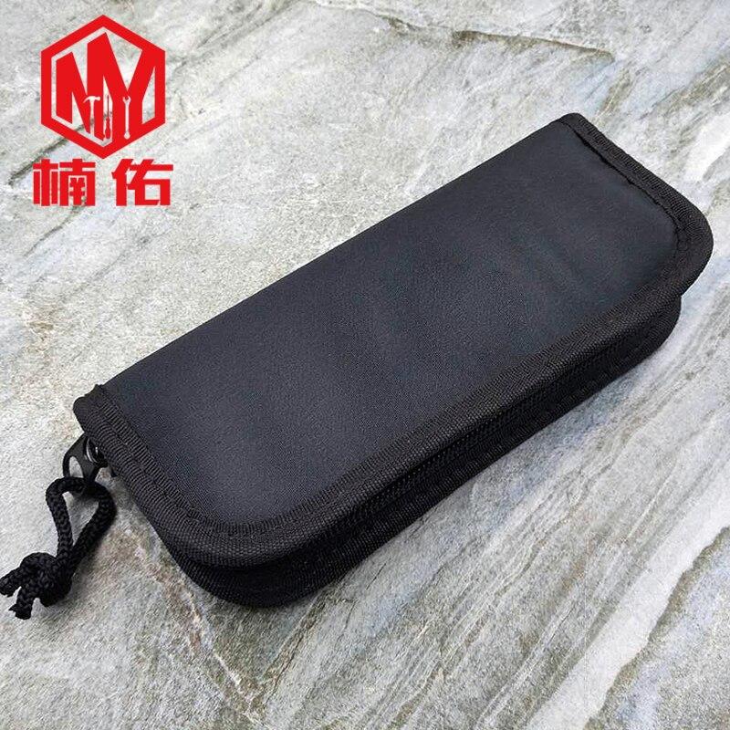 1PC Portable Large Capacity Nylon Storage Bag EDC Pocket Folding Knife Storage Bag Scabbard Outdoor Travel Multifunction Tool