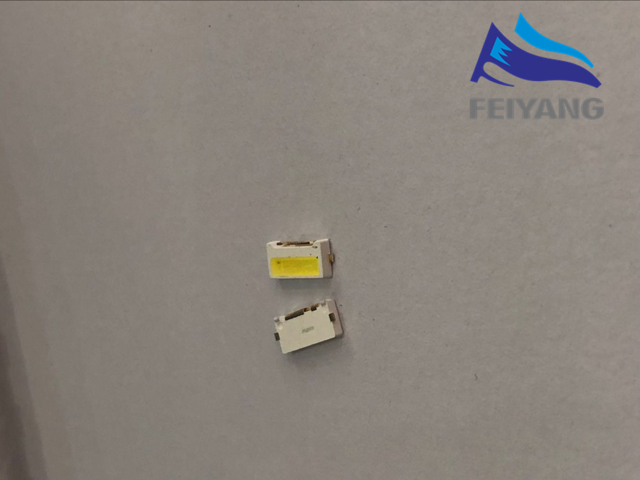 50PCS For SAM LED LCD Backlight TV Application LED Backlight Edge LED Series 2W 9V 7032 Cool white SVTE7032P3-GW