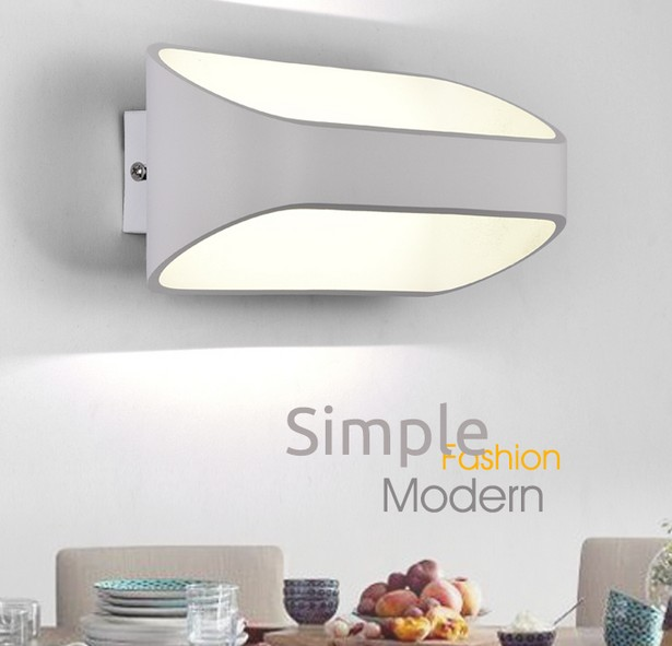 IWHD Simple Modern Wall Lamps Sconce Creative LED Wall Light For Home Lighting Iron Bedside Wall Lamp Integrated Lampara post modern wall lamp indoor lighting bedside lamps wall lights for home creative modern wall sconce