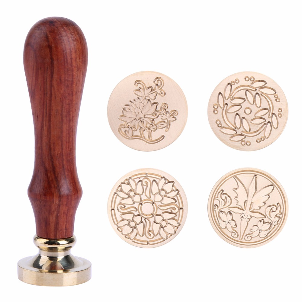 Retro Wax Seal Wood Stamp Classic Sealing Wax Seal Stamp Ancient Seal Post Decorative Antique Vintage DIY Stamp Gifts Decorative