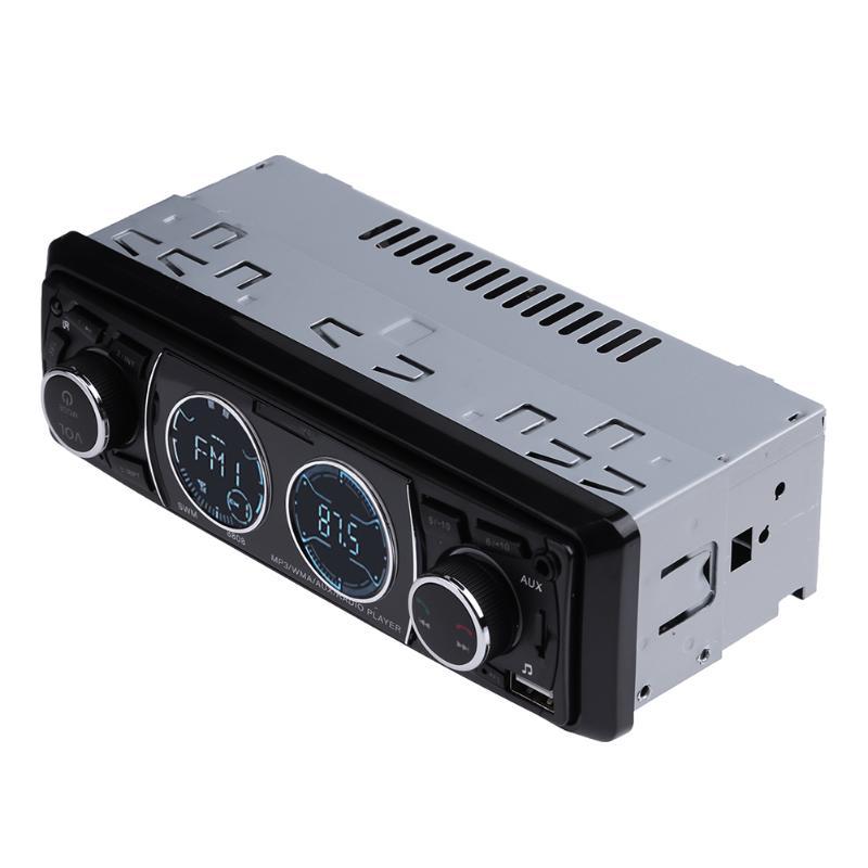 12V Stereo Bluetooth Car Audio Mp3 Player U Disk Media Player Handfree FM Radio Receiver Dual USB Charging With Remote Control