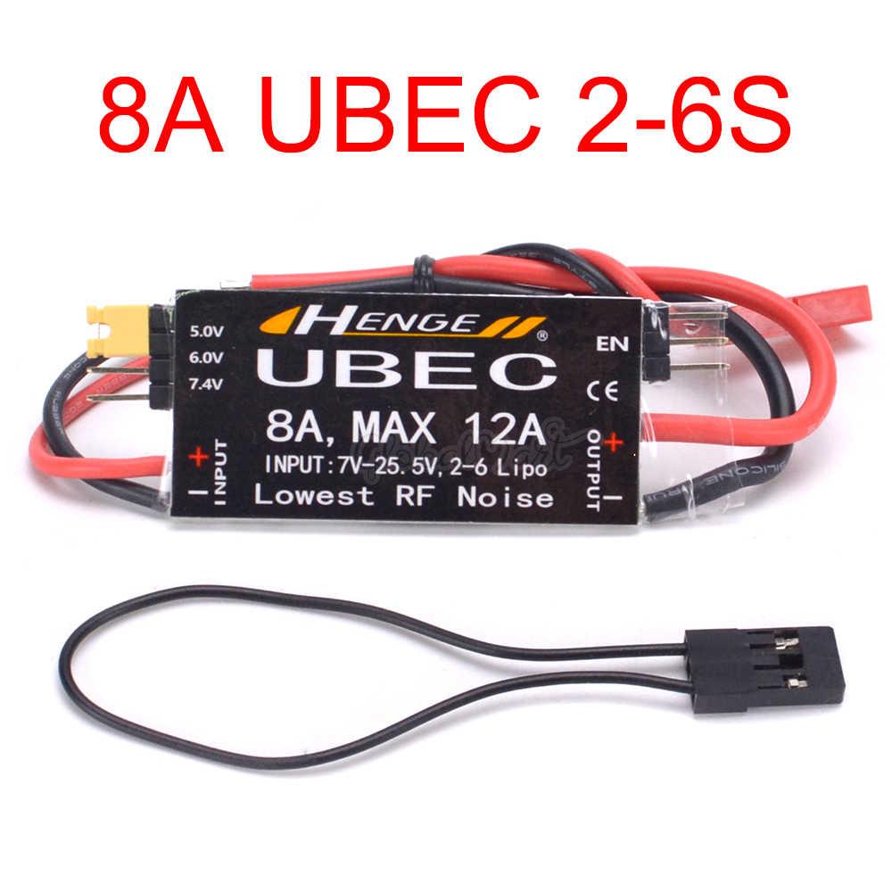1 шт. выход 8A UBEC 5 В/6 в 6A/8A Max 12A Inport 7 V-25,5 V 2-6 S Lipo/6-16 cell Ni-MH входной переключатель Mode BEC для RC Quadcopter