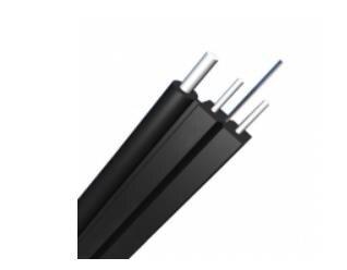 QIALAN 250 м Одномодовый 9/125 OS2, крепкий элемент KFRP, самонесущий FTTH кабель GJYXFCH