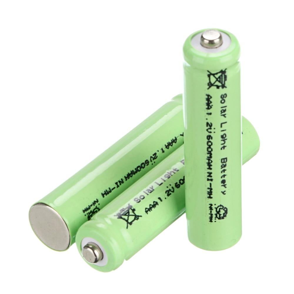 Environmental Solar Battery 3 Pcs Aaa Solar Light