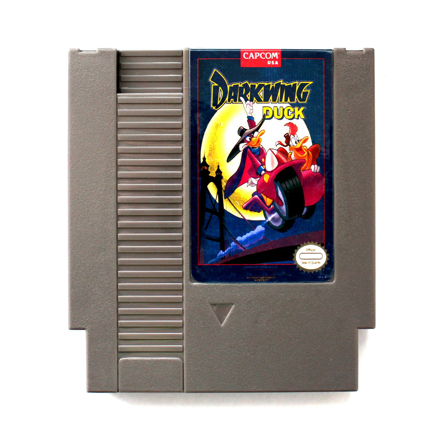 Darkwing Duck 72 Pins Game Card For 8 Bit Game Player