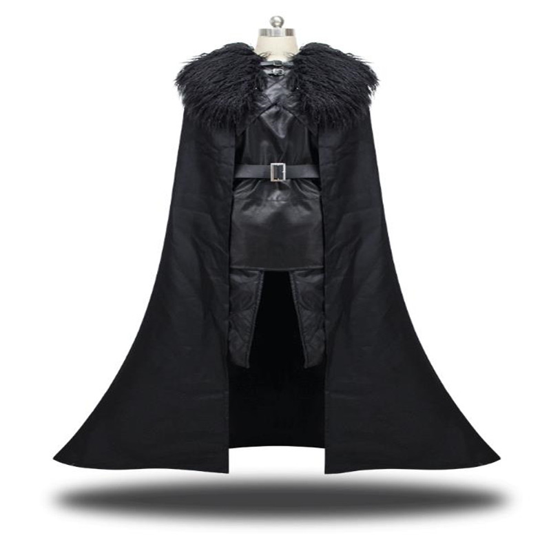 Jon Snow Cosplay Costume Game actor Costume Suit  Power Game Clothing