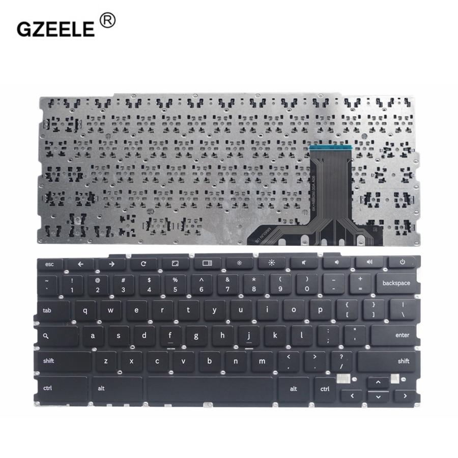 GZEELE NEW US laptop keyboard for Samsung Chromebook XE303 XE550 XE500 XE505 XE303C12 XE550C21 500T1C English black keyboards