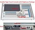 Sistema operacional titan tigre toque controlador de equipamento de palco console de controle de luz em movimento da cabeça 2048 canais dmx em caso de vôo