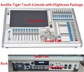 Titan Операционной Системы Тигра Сенсорный Контроллер Управления Свет Этапа Перемещение Головы Оборудования 2048 Каналов DMX Консоли в случае Полета