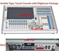 Titan операционная система Тигр сенсорное управление Лер сценический свет управление консоли Подвижная головка оборудование 2048 DMX каналы в ф