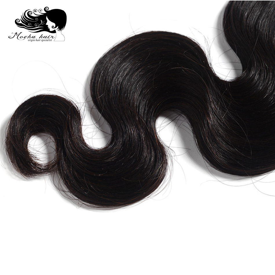 MOCHA Hair 3 Bundles Virgin Hair European Hair Body Wave 100% Unprocessed Human Hair Extension Natural Color Free Shipping