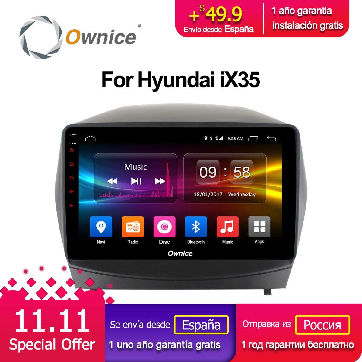 Ownice C500 + G10 Octa Huit Core Android 8.1 autoradio lecteur DVD GPS pour Hyundai iX35 2010-2015 2g RAM 32g ROM Soutien 4g LTE
