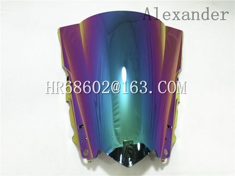HotSale үшін Yamaha YZF R25 R3 2013 2014 2015 2016 2017 2018 Iridium Windshield WindScreen Double Bubble R 25 3 13 14 15 16 17 18