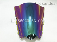 HotSale Freeshipping Windshield WindScreen Double Bubble For Yamaha YZF R25 R3 14 15 16 2014 2015