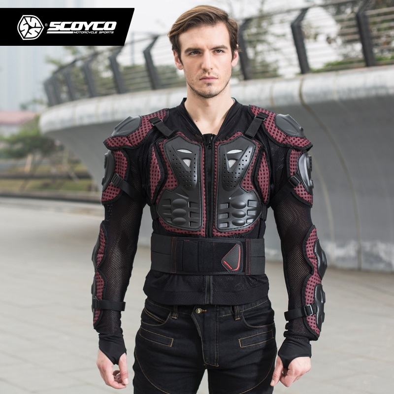Scoyco AM02 motocross armure moto hors route armure course pleine protection engrenages moto cross country armure corps - 3